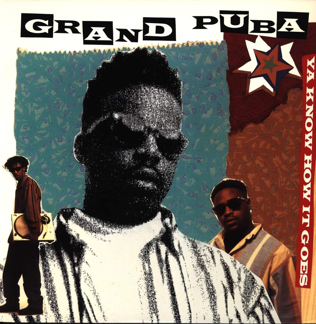 "Grand Puba: Ya Know How It Goes / Lickshot, 12"" Maxi Single (Vinyl)"