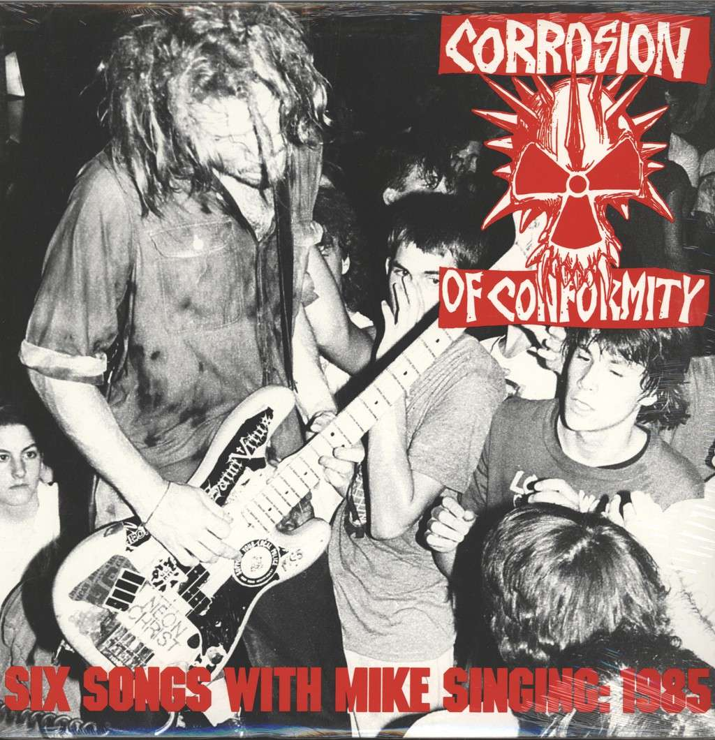 Corrosion Of Conformity: Six Songs With Mike Singing: 1985, Mini LP (Vinyl)