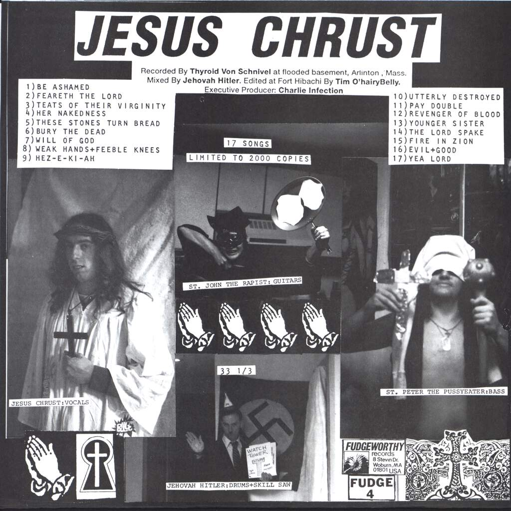 "Jesus Chrust: I'm Nailed Right In, 7"" Single (Vinyl)"