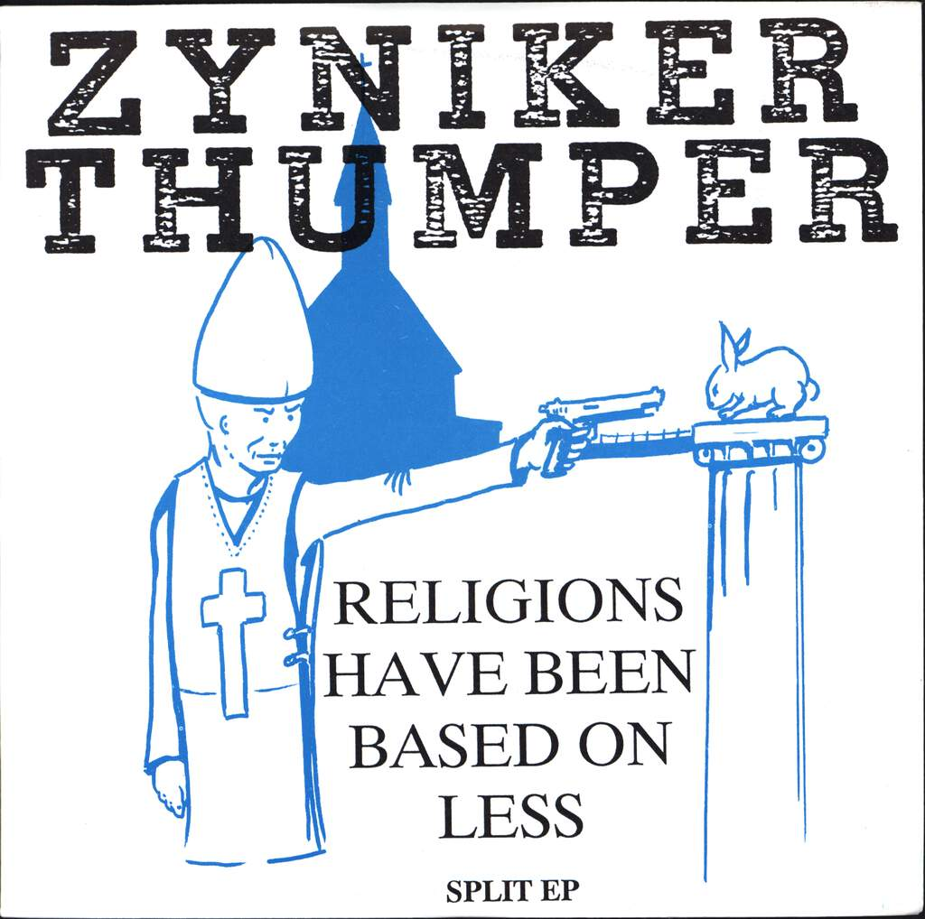 "Zyniker: Religions Have Been Based On Less - Split Ep, 7"" Single (Vinyl)"