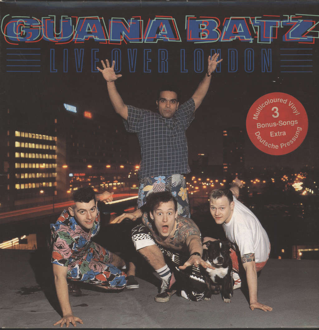 Guana Batz: Live Over London, LP (Vinyl)