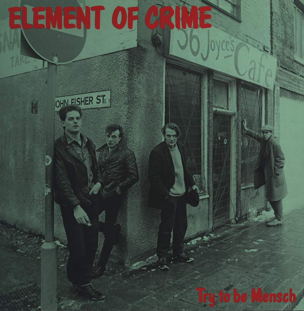 Element Of Crime: Try To Be Mensch, LP (Vinyl)