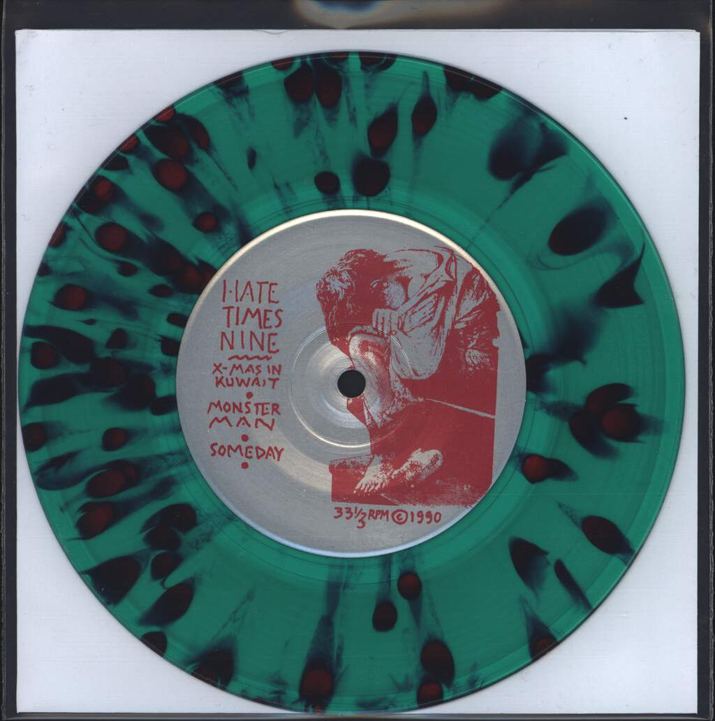 "Hate X 9: Khristmas In Kuwait, 7"" Single (Vinyl)"