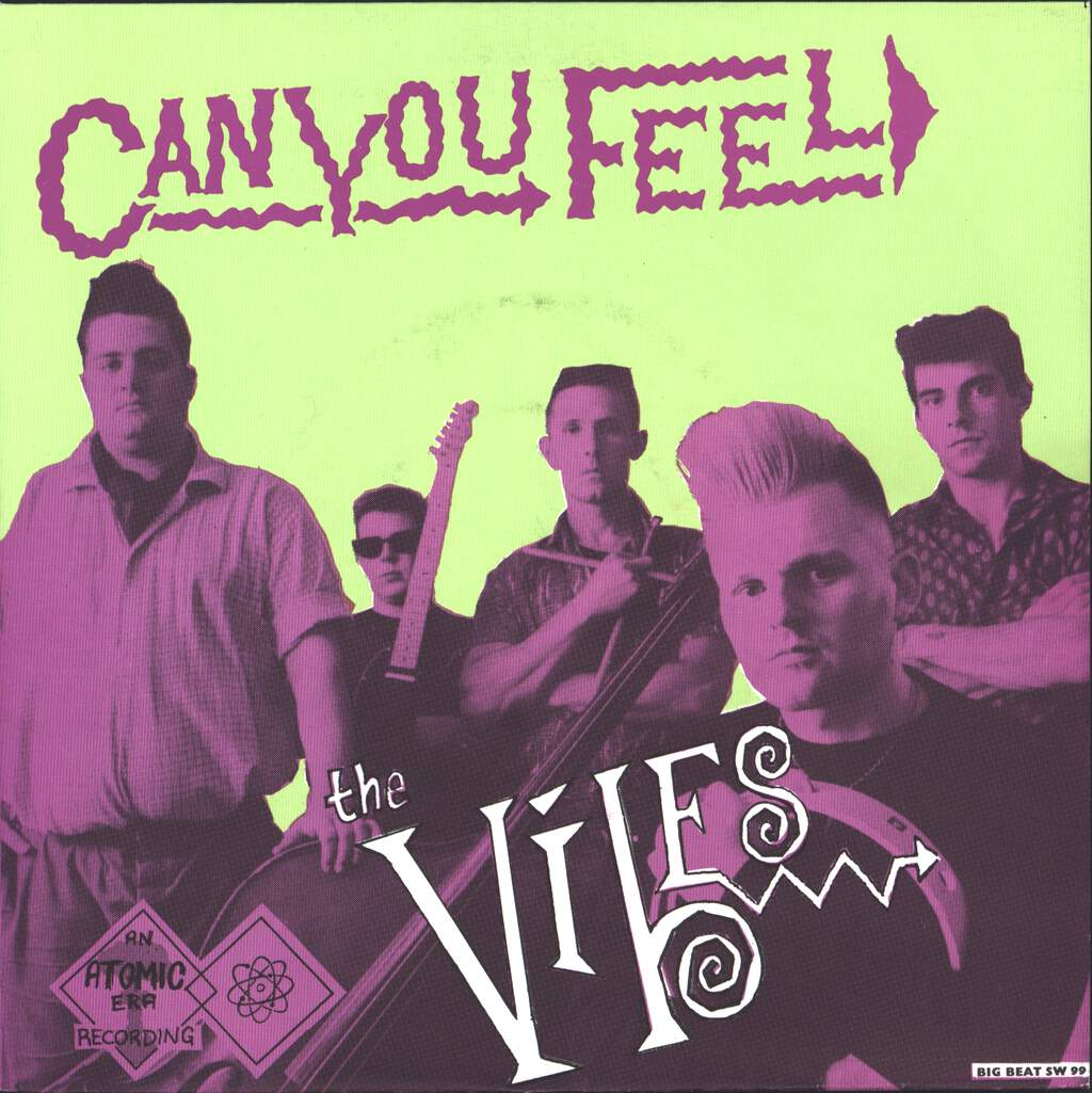 "The Vibes: Can You Feel, 7"" Single (Vinyl)"