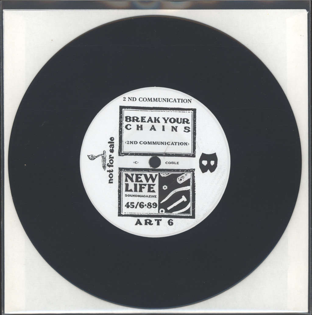 "2nd Communication: Locked In Truth, 7"" Single (Vinyl)"