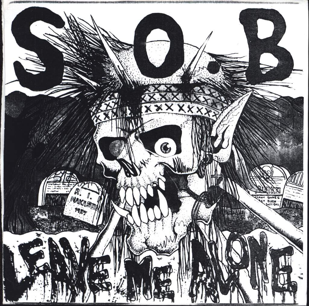"S.O.B.: Leave Me Alone, 7"" Single (Vinyl)"
