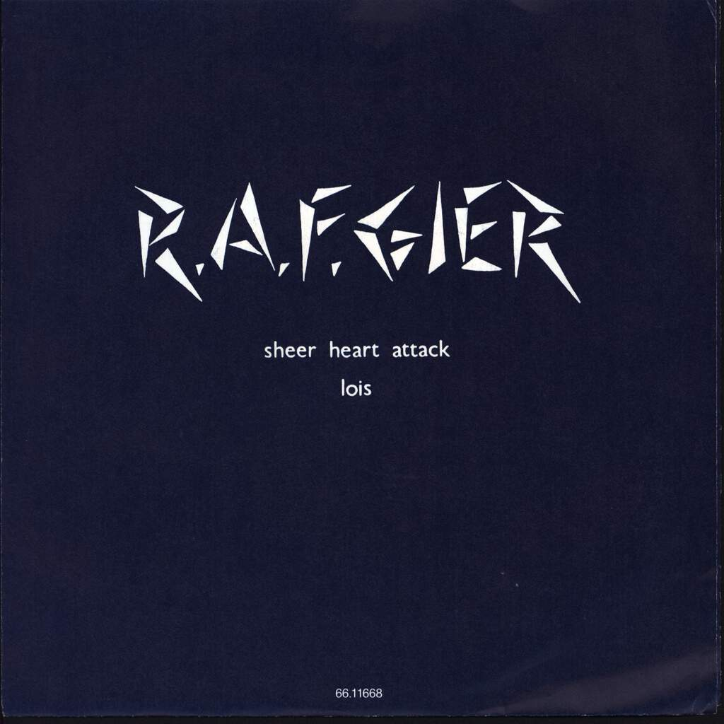 "R.a.f.gier: Sheer Heart Attack, 7"" Single (Vinyl)"