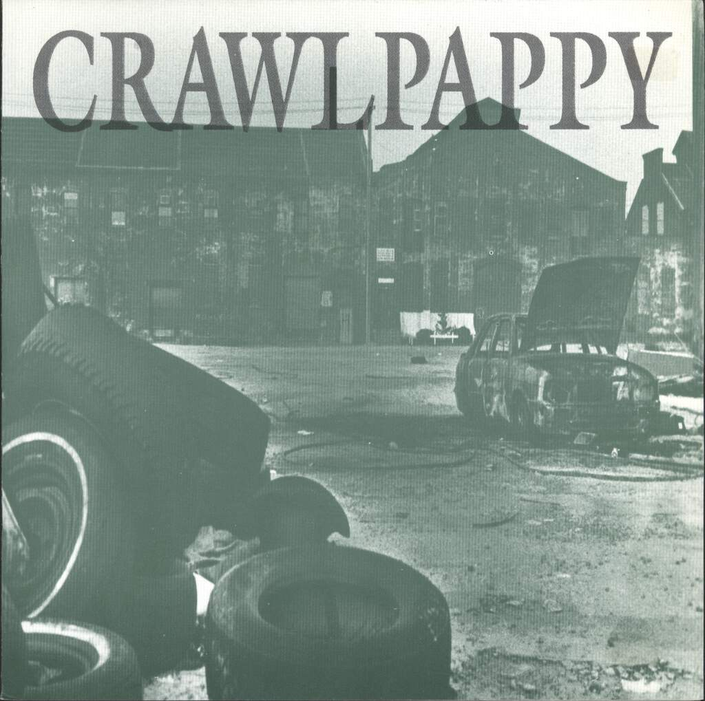 "Crawlpappy: Temple Body / Mind's Eye, 7"" Single (Vinyl)"