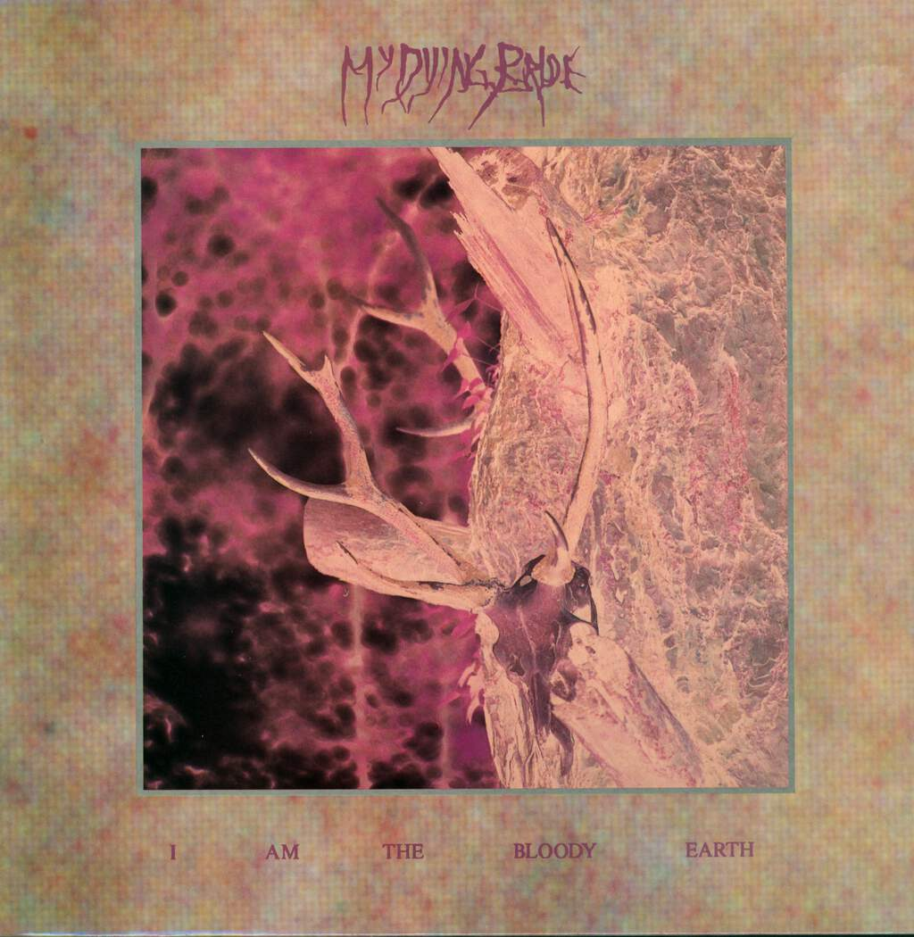 "My Dying Bride: I Am The Bloody Earth, 12"" Maxi Single (Vinyl)"