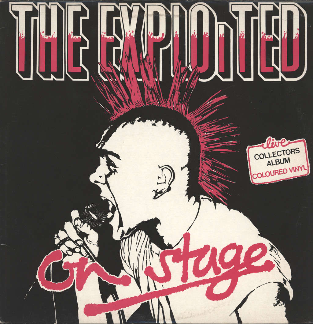 Exploited: On Stage, LP (Vinyl)