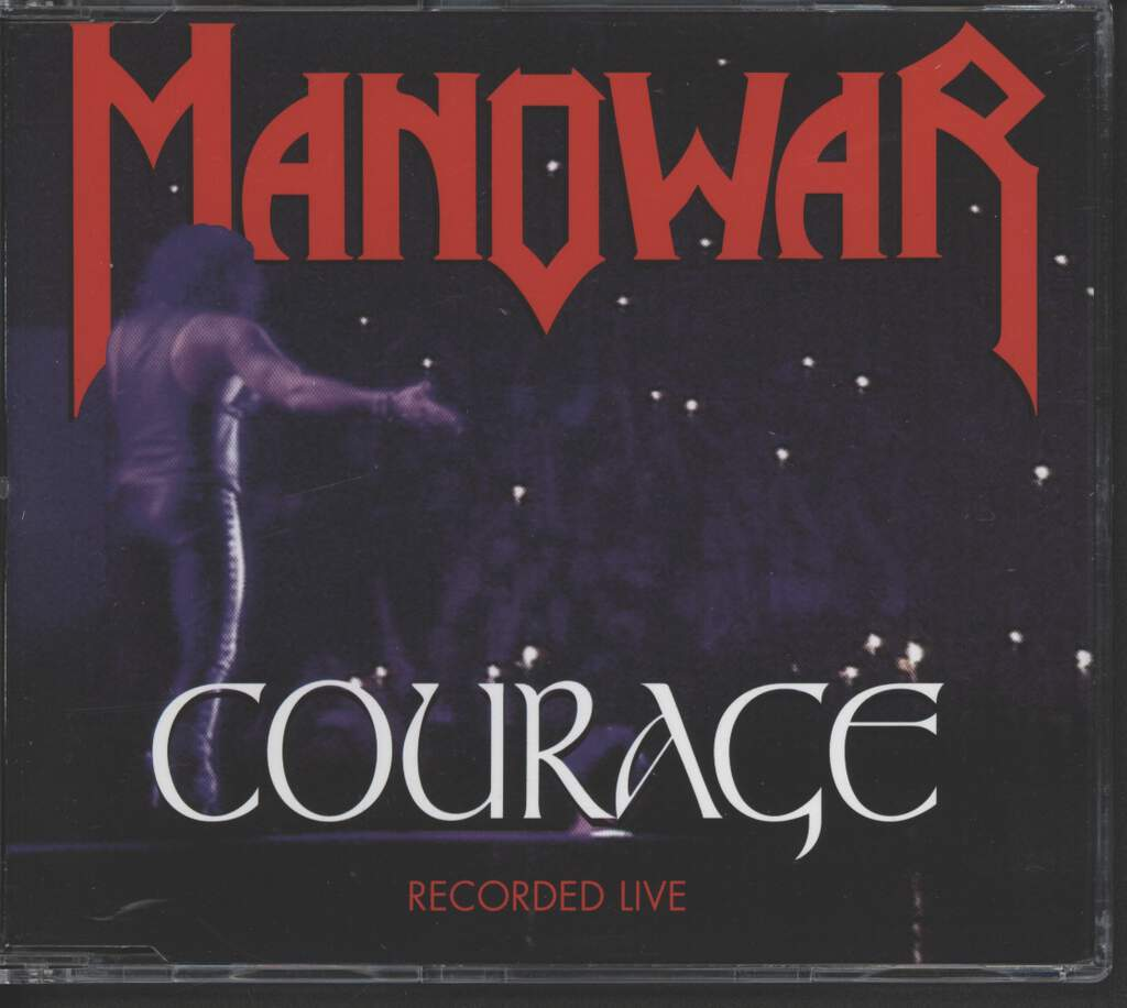 Manowar: Courage, Mini CD
