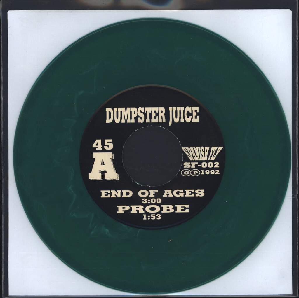 "Dumpster Juice: End Of Ages, 7"" Single (Vinyl)"