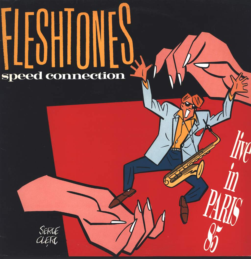 The Fleshtones: Speed Connection  - Live In Paris 85, LP (Vinyl)