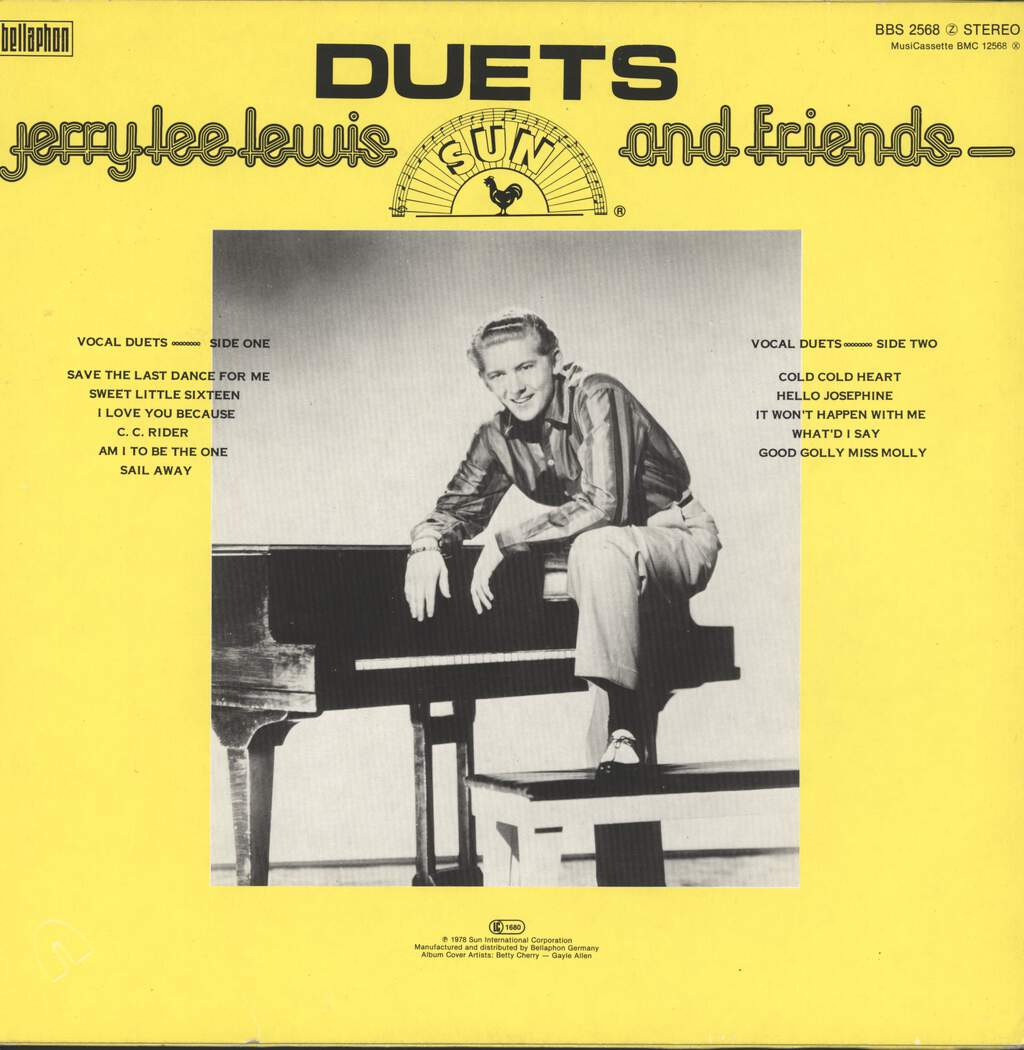 Jerry Lee Lewis And Friends: Duets, LP (Vinyl)