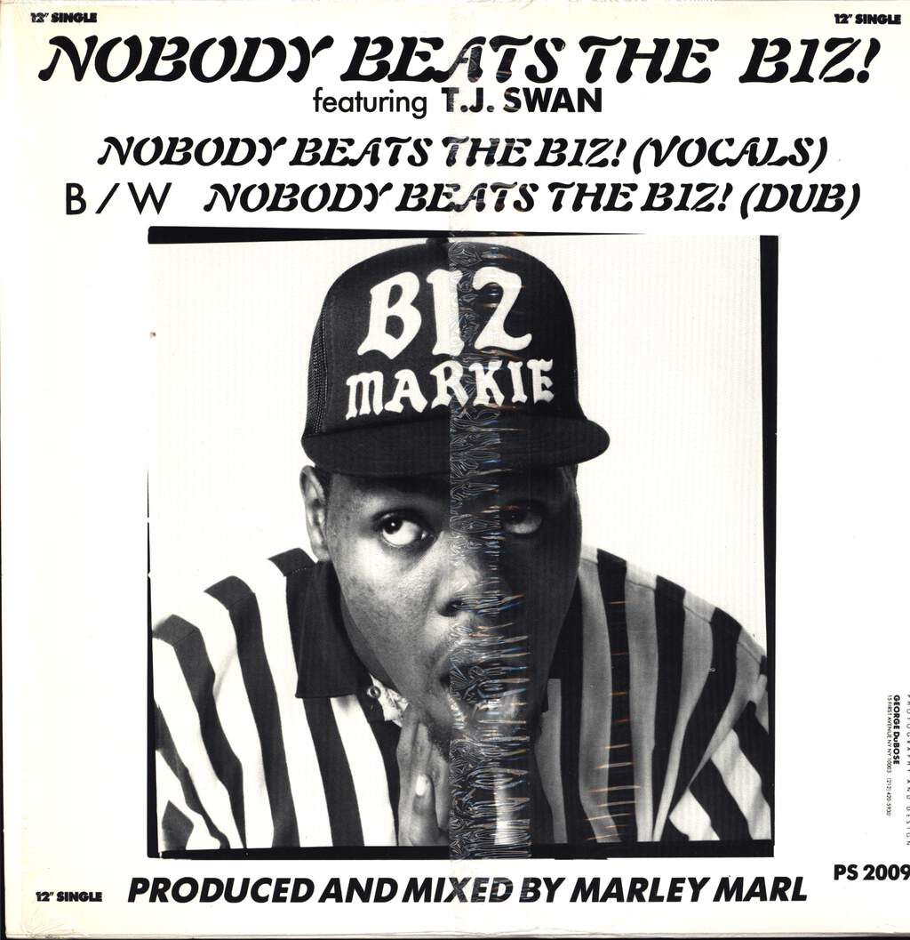 "Biz Markie: Nobody Beats The Biz, 12"" Maxi Single (Vinyl)"