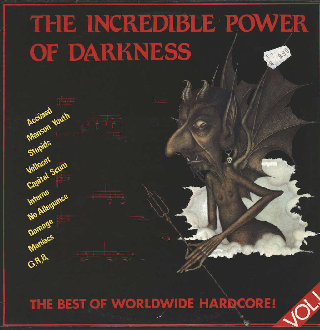 Various: The Incredible Power Of Darkness, LP (Vinyl)