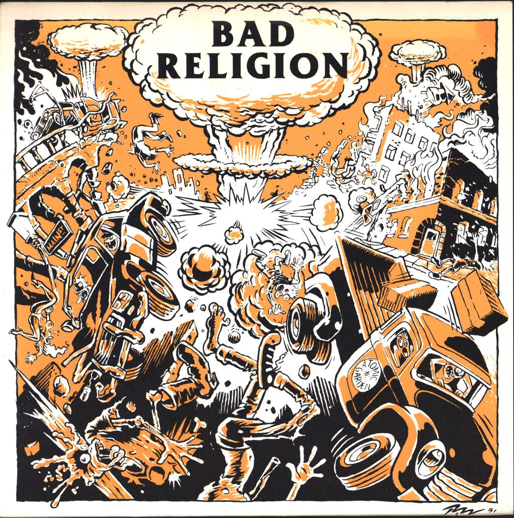"Bad Religion: Atomic Garden, 7"" Single (Vinyl)"