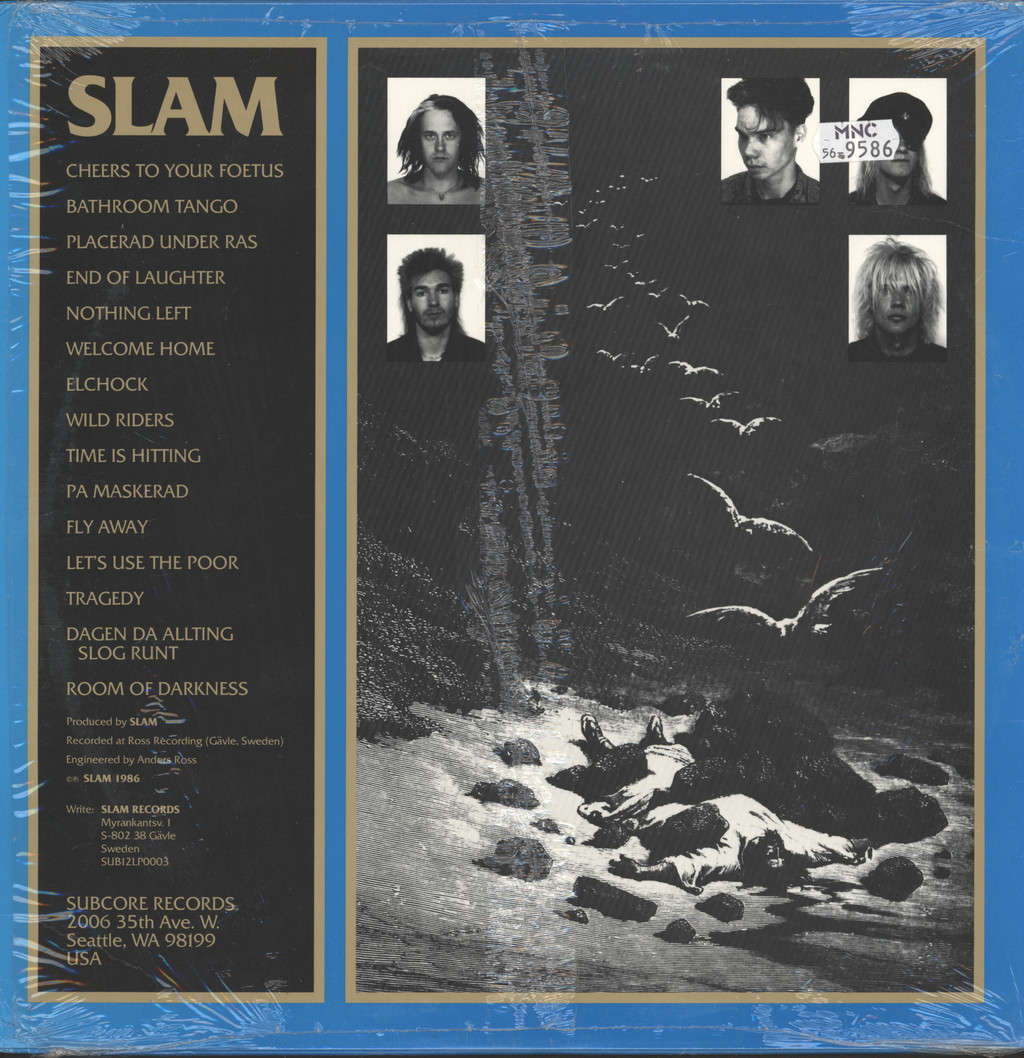 Slam (Swe): End of Laughter, LP (Vinyl)