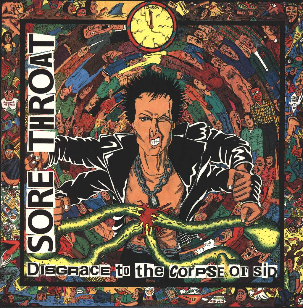 Sore Throat: Disgrace To The Corpse Of Sid, LP (Vinyl)