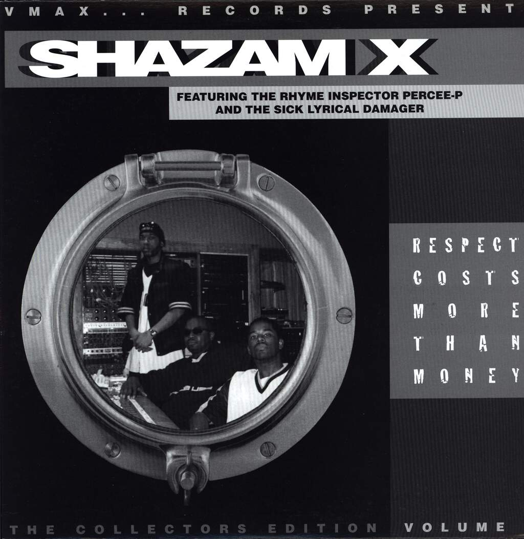 "Shazam X: Respect Costs More Than Money (The Collectors Edition Volume I), 12"" Maxi Single (Vinyl)"
