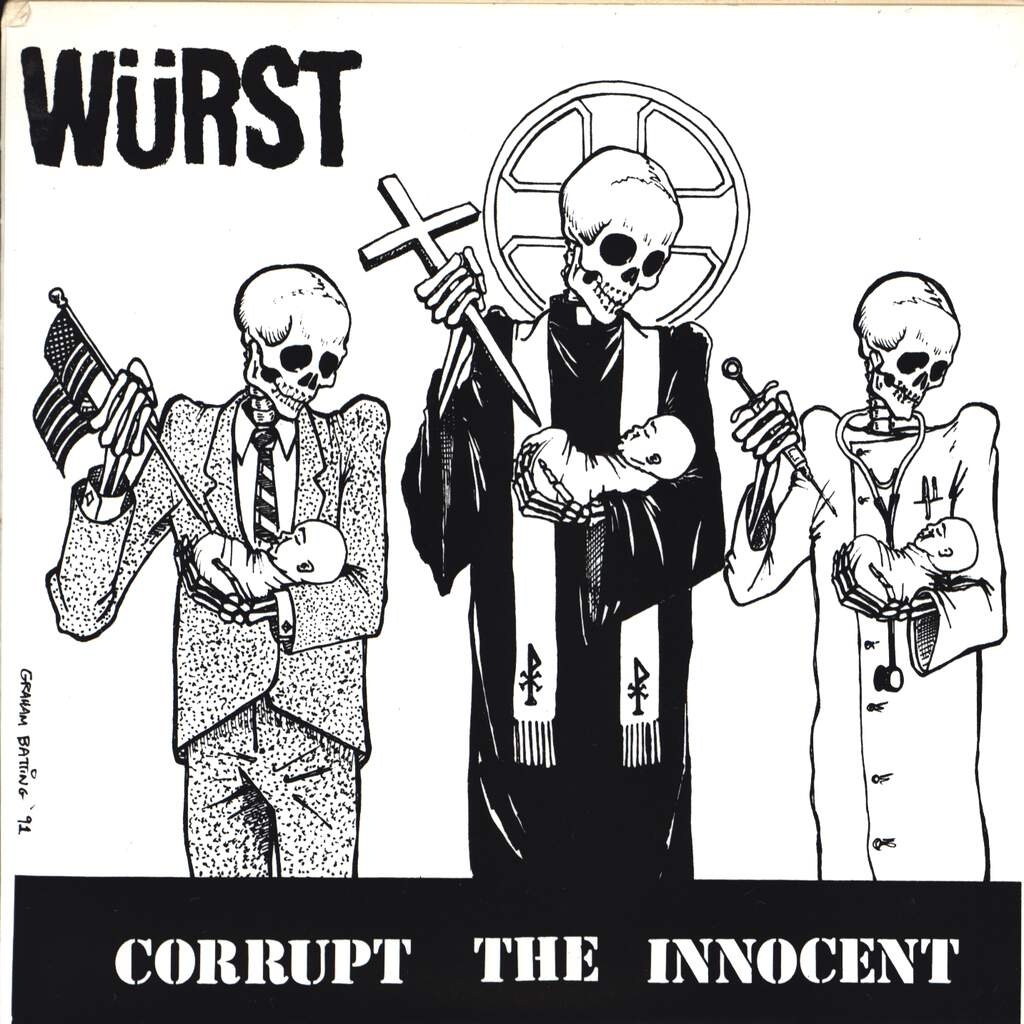"Jesus Chrust: Würst / Jesus Chrust, 7"" Single (Vinyl)"