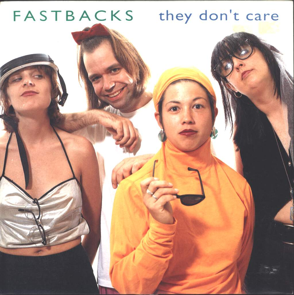 "Fastbacks: They Don't Care, 7"" Single (Vinyl)"