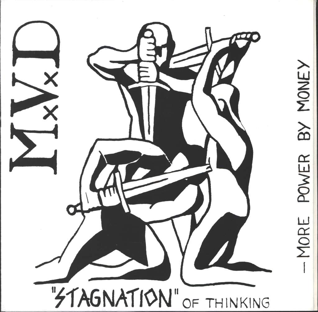"Mvd: Stagnation of Thinking, 7"" Single (Vinyl)"