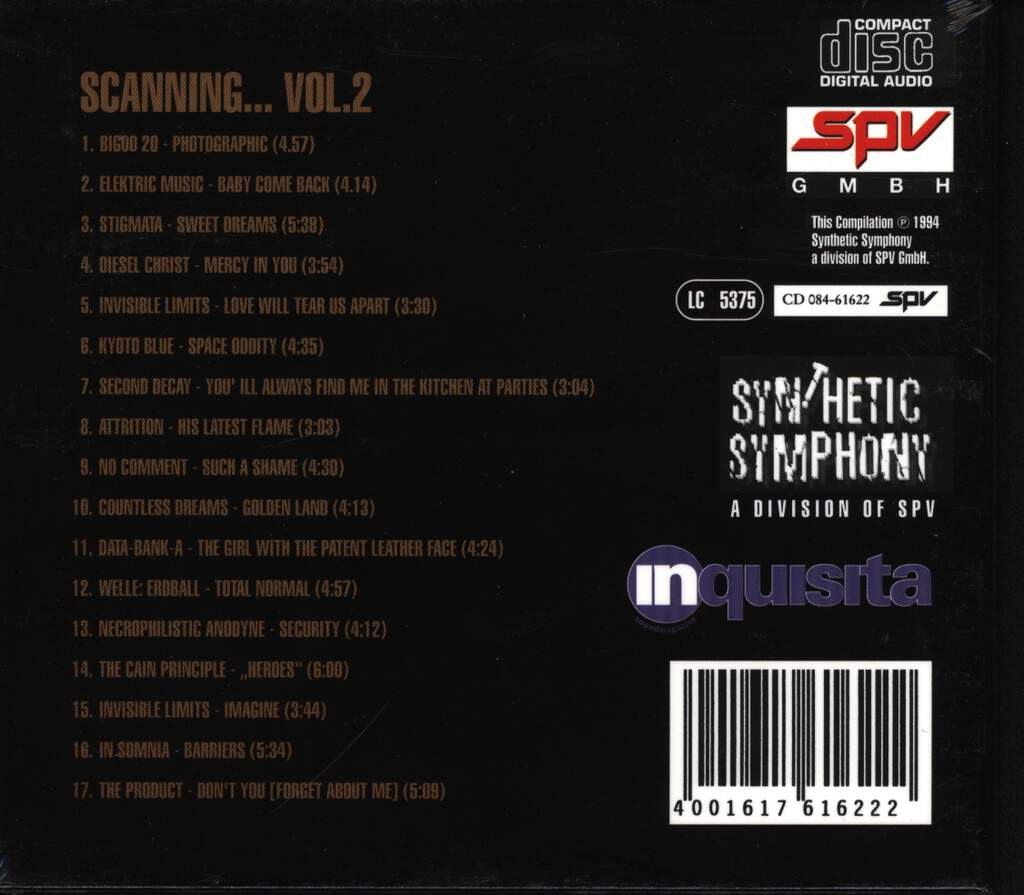 Various: Scanning... Vol. 2, CD