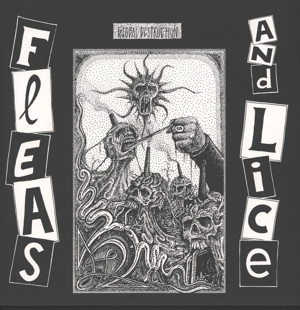 Fleas and Lice: Global Destruction, Mini LP (Vinyl)
