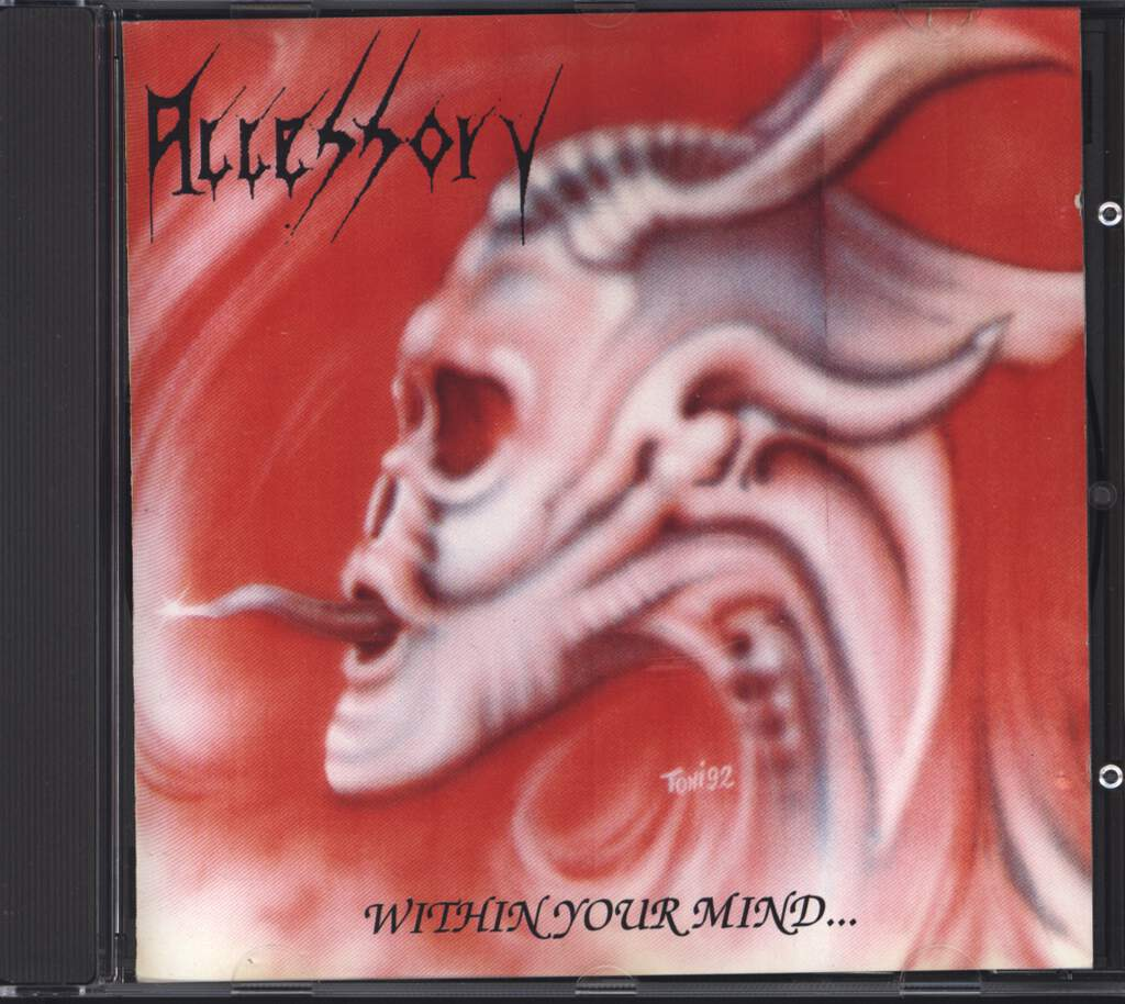 Accessory: Within Your Mind..., CD