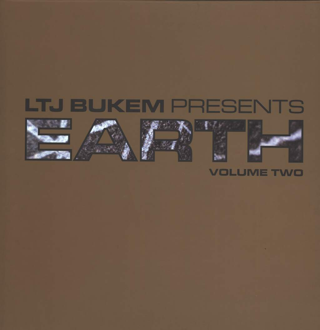 "LTJ Bukem: Earth Volume Two, 5×12"" Maxi Single (Vinyl)"