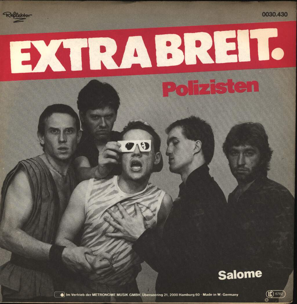 "Extrabreit: Polizisten, 7"" Single (Vinyl)"