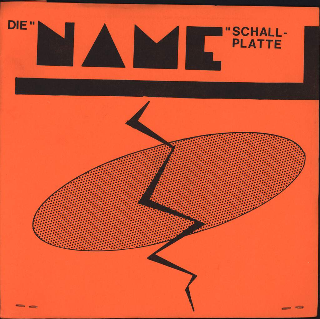 "Name: Die Name-Schallplatte, 7"" Single (Vinyl)"