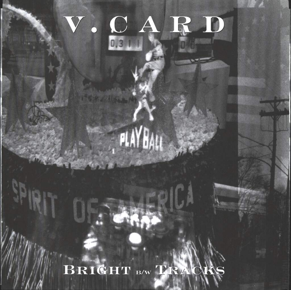"V. Card: Bright / Tracks, 7"" Single (Vinyl)"