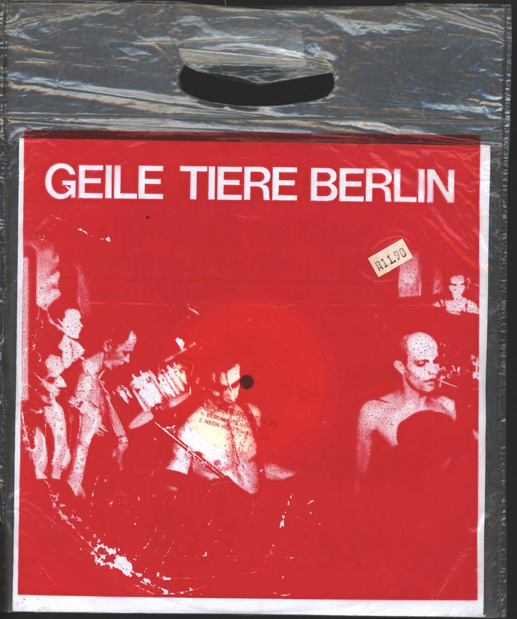 "Geile Tiere: Untitled, 10"" Vinyl EP"