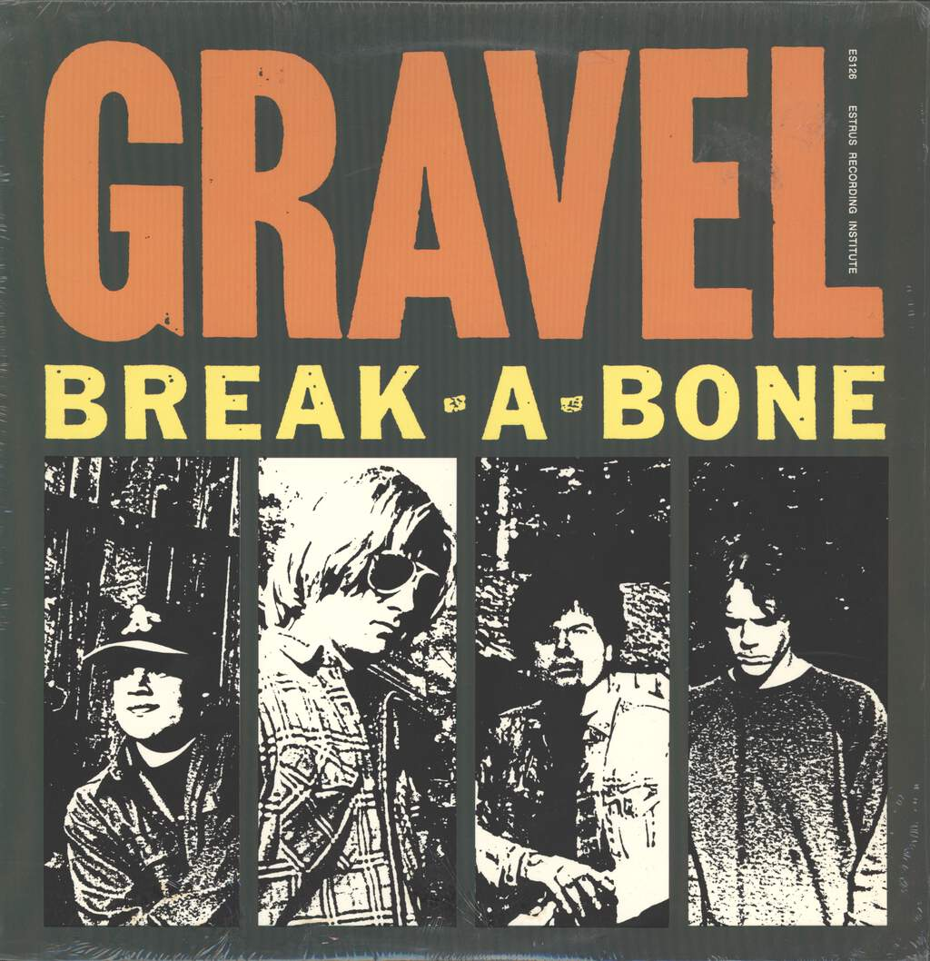 Gravel: Break-A-Bone, LP (Vinyl)