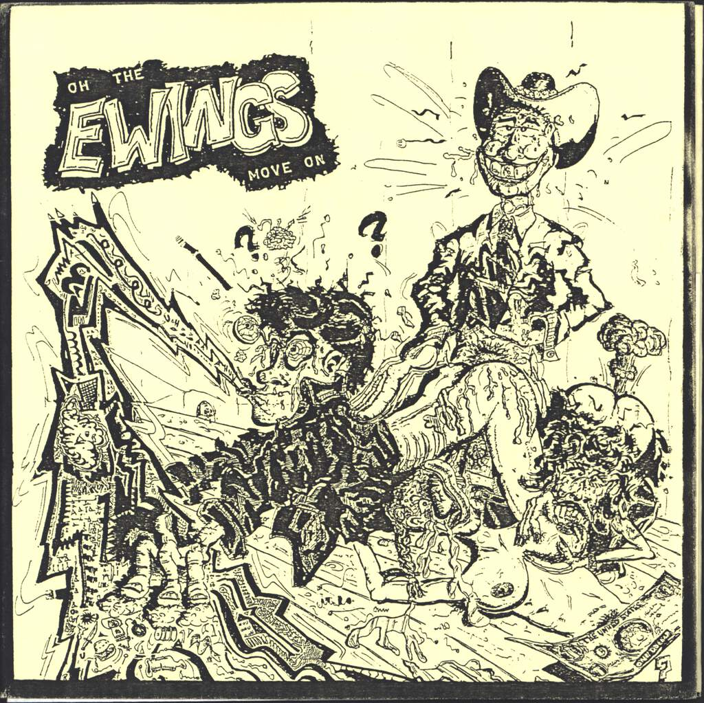 "The Ewings: Oh Move On, 7"" Single (Vinyl)"