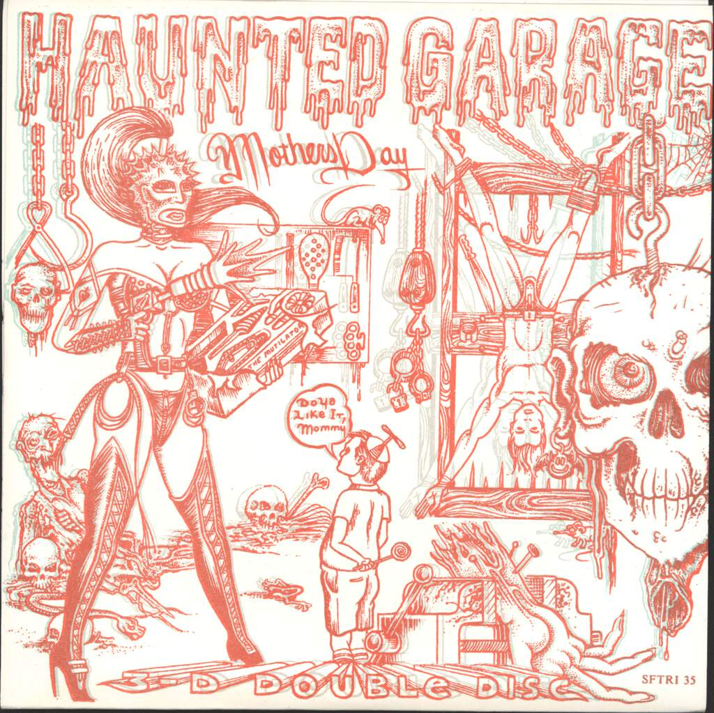 "Haunted Garage: Mothers Day, 7"" Single (Vinyl)"