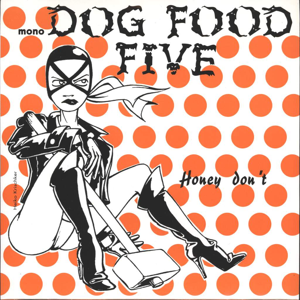 "Dog Food Five: Honey Don't, 7"" Single (Vinyl)"
