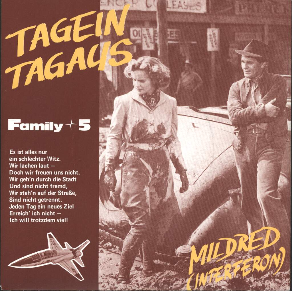 "Family 5: Tagein Tagaus / Mildred (Interferon), 7"" Single (Vinyl)"