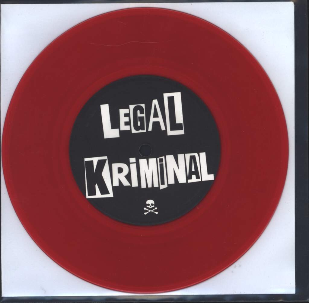 "Legal Kriminal: Psychopathen, 7"" Single (Vinyl)"