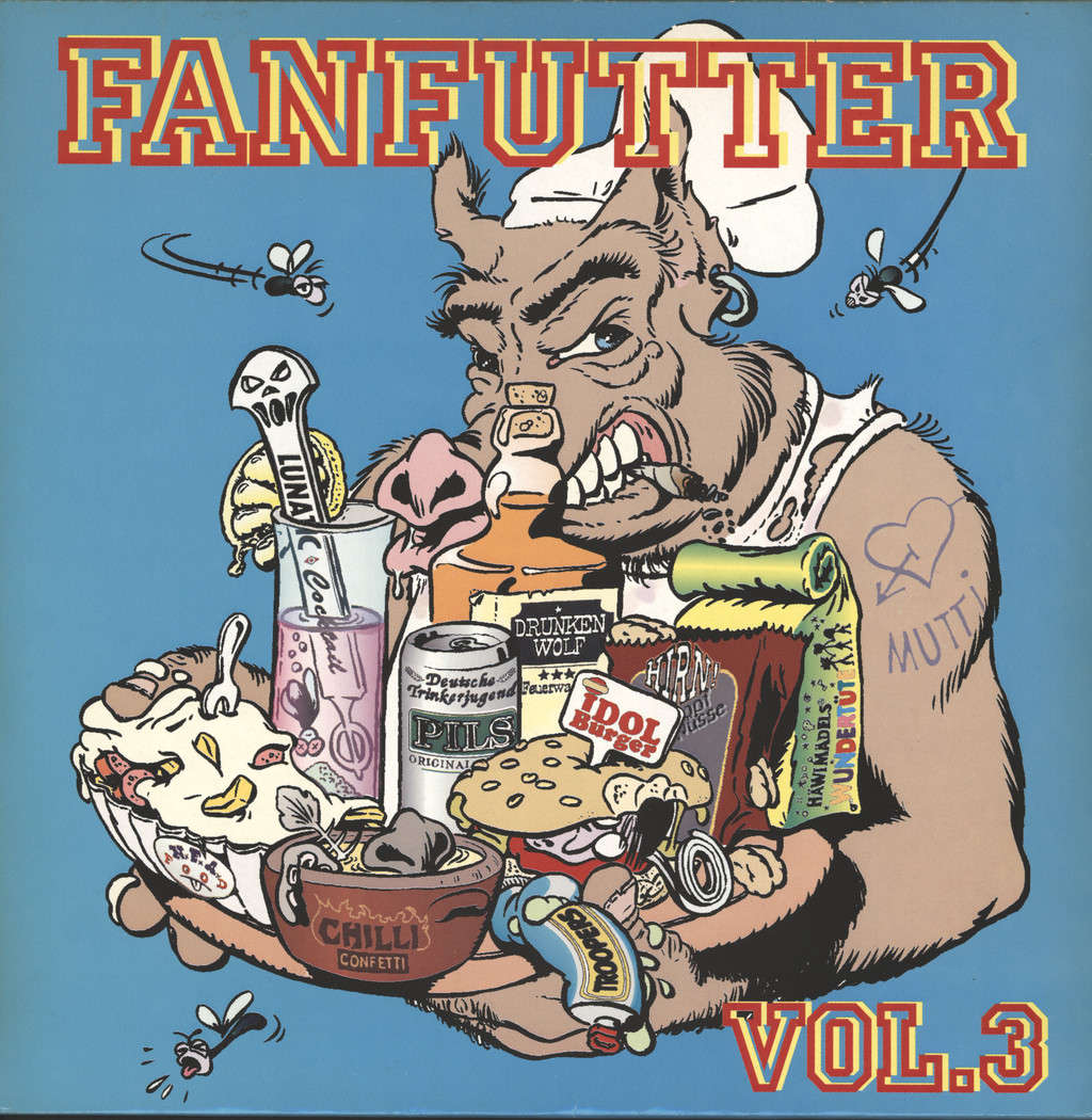 Various: Fanfutter Vol.3, LP (Vinyl)