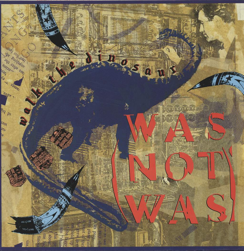 "Was (Not Was): Walk The Dinosaur, 12"" Maxi Single (Vinyl)"