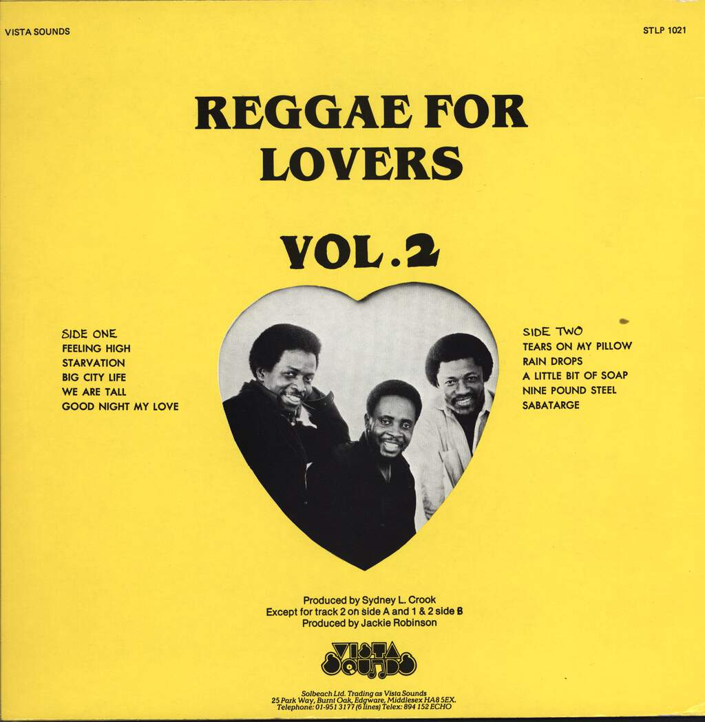 Pioneers: Reggae For Lovers 2, LP (Vinyl)