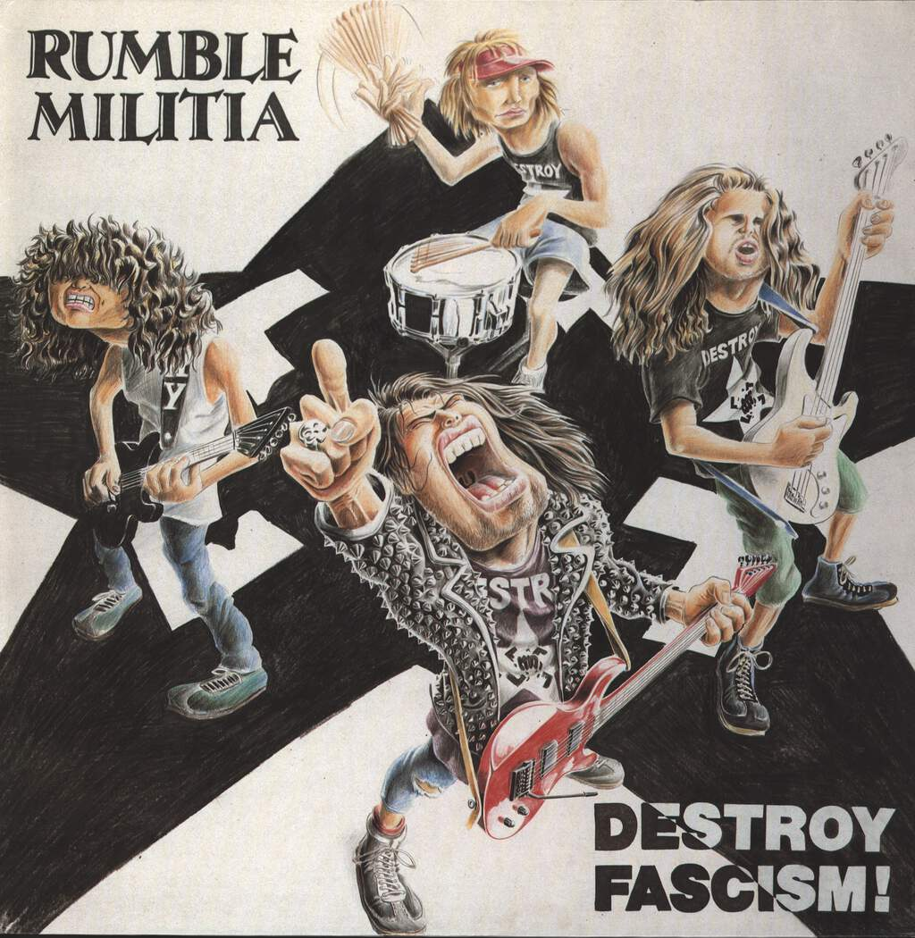 Rumble Militia: Destroy Fascism, LP (Vinyl)