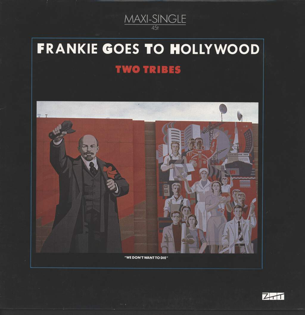"Frankie Goes To Hollywood: Two Tribes, 12"" Maxi Single (Vinyl)"