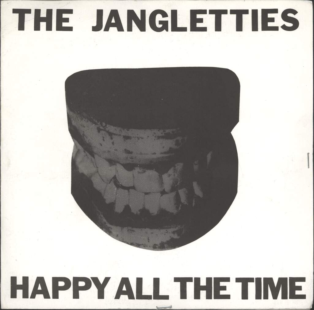 "Jangletties: Happy All The Time / Backseat, 7"" Single (Vinyl)"