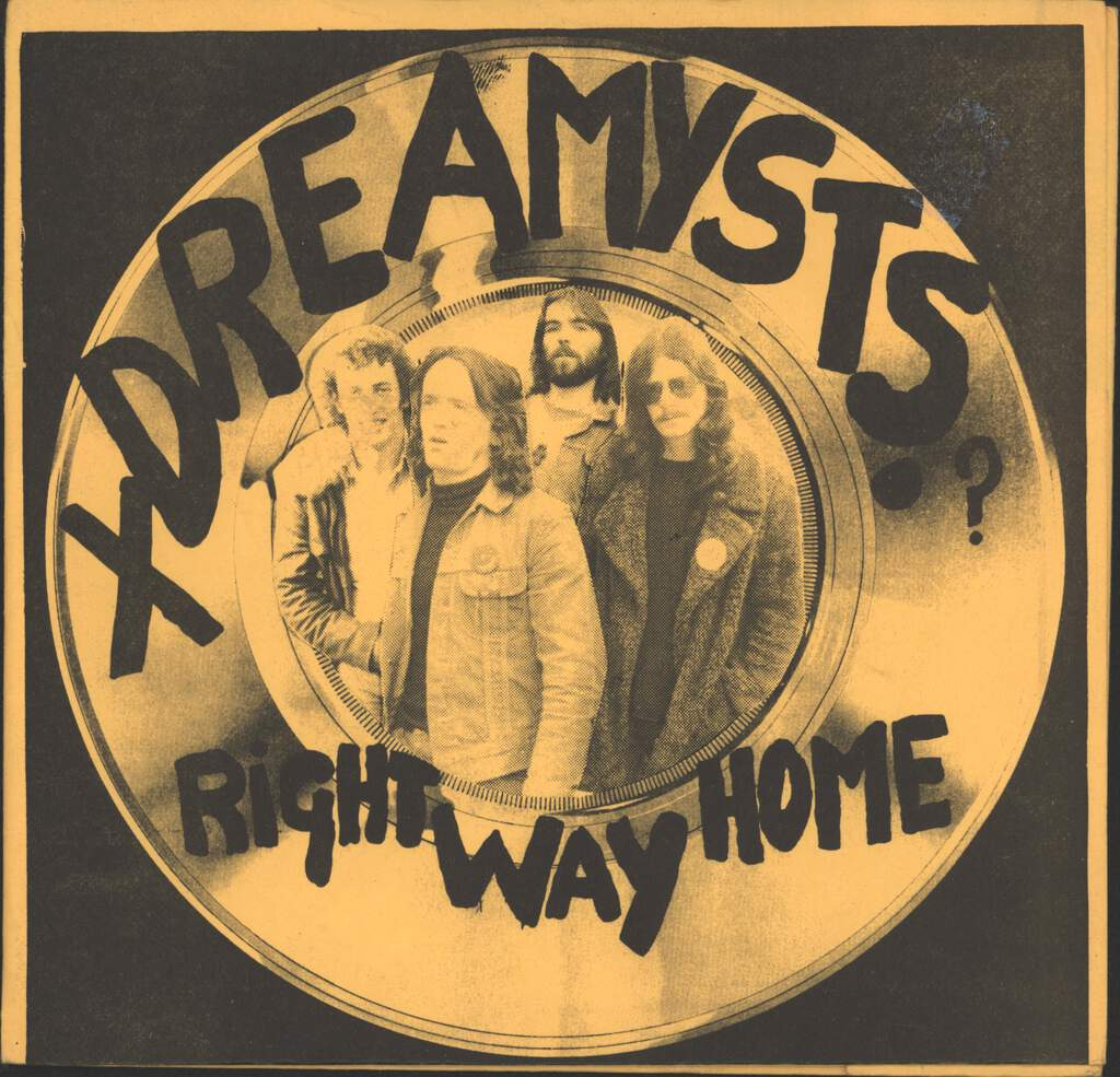 "Xdreamysts: Right Way Home / Dance Away Love, 7"" Single (Vinyl)"