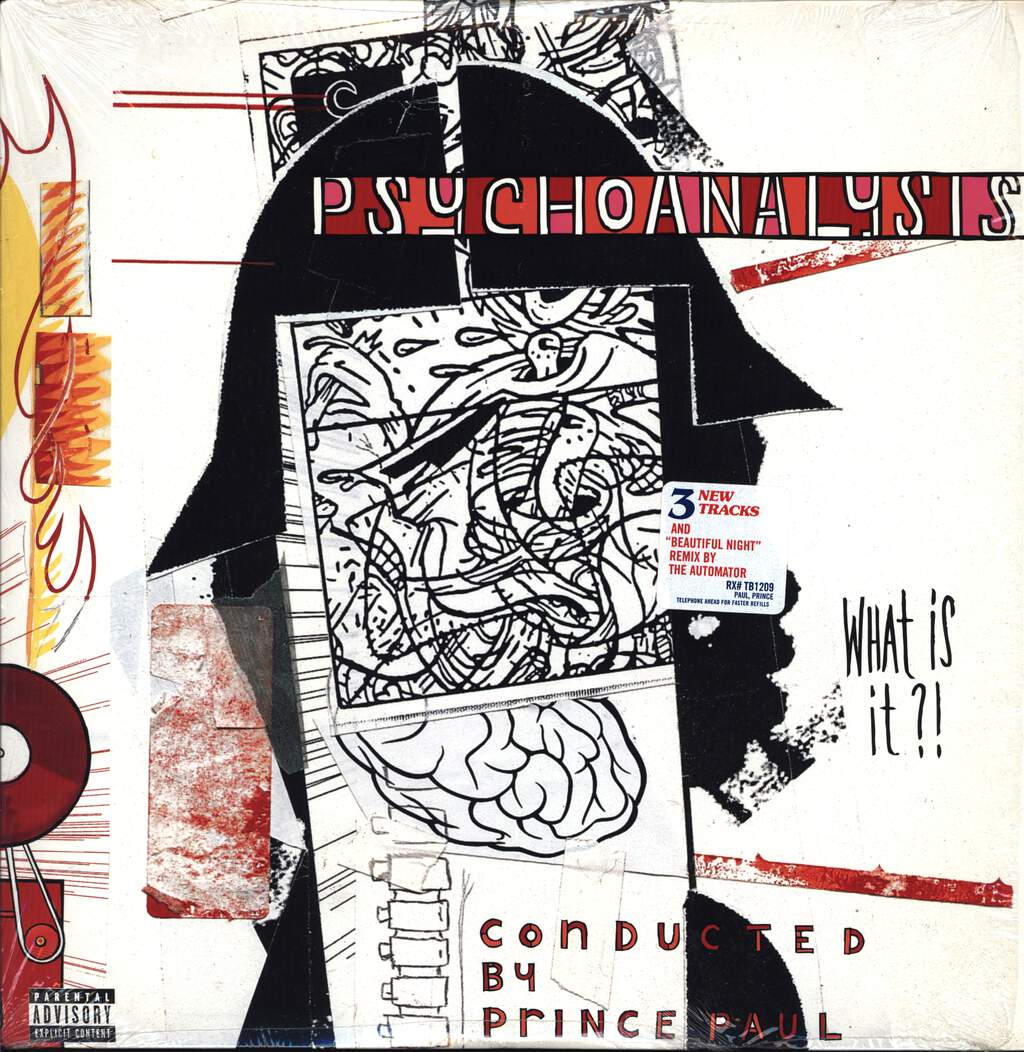 Prince Paul: Psychoanalysis (What Is It?), LP (Vinyl)