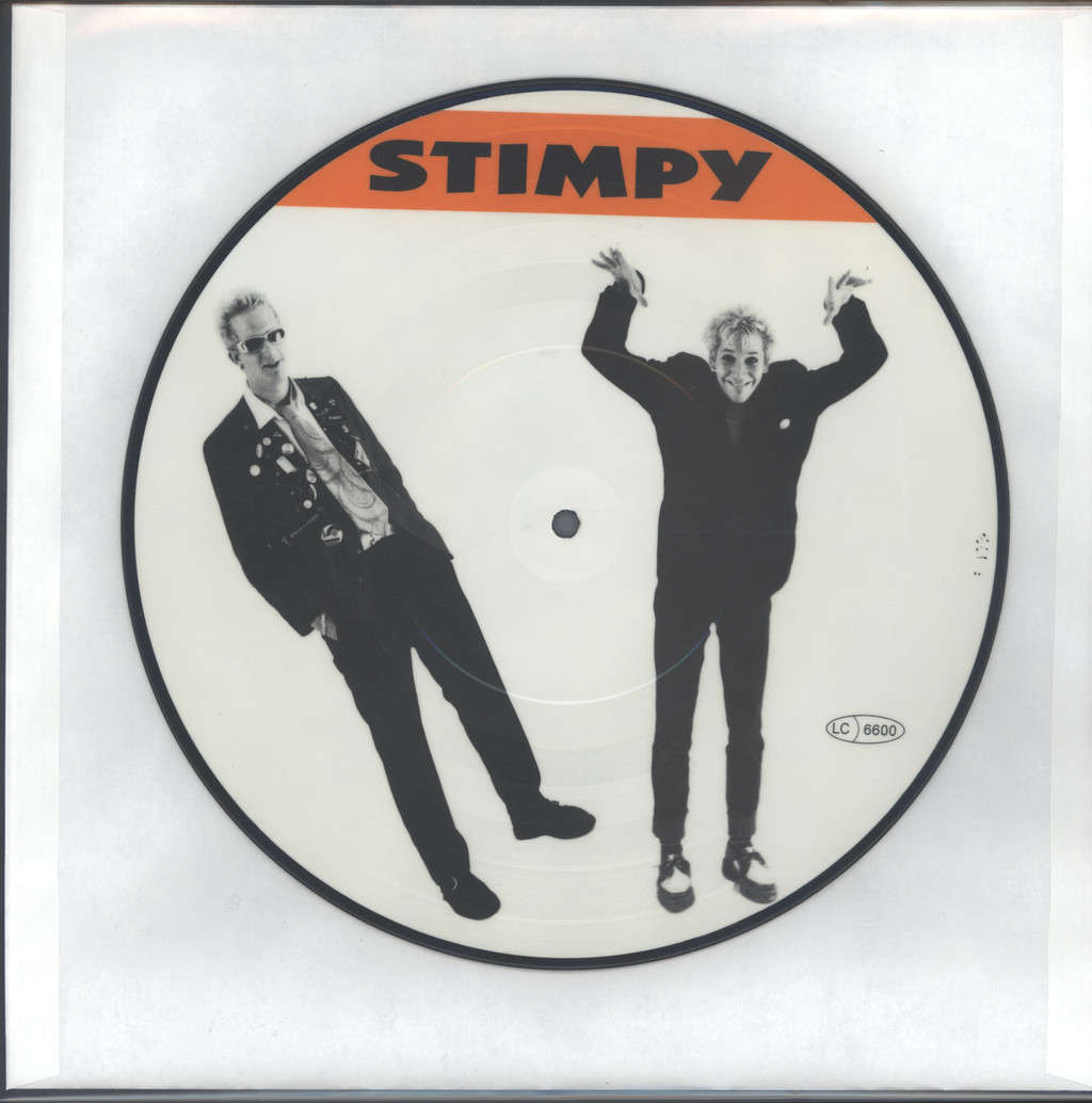 "Stimpy: Dirty Love Affair, 10"" Vinyl EP"